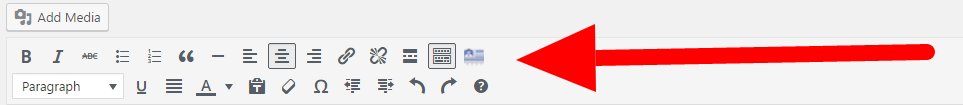 organize your posts with toolbar