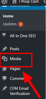 how to add a picture to wordpress step 4