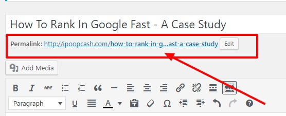 keyword in URL helps to rank faster