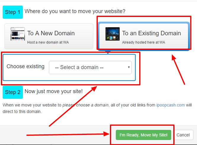 move domain