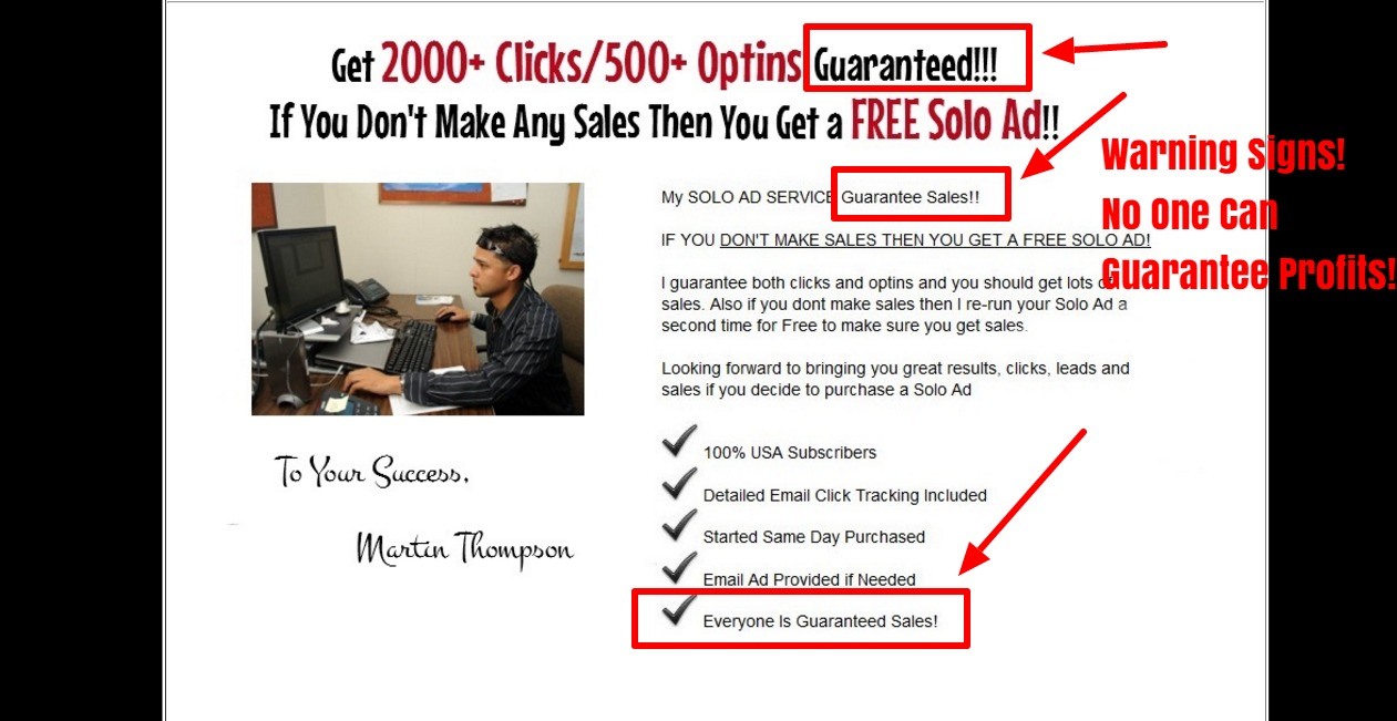 2016 martins profitable solo ads review