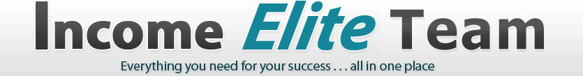 Income Elite Getting Started
