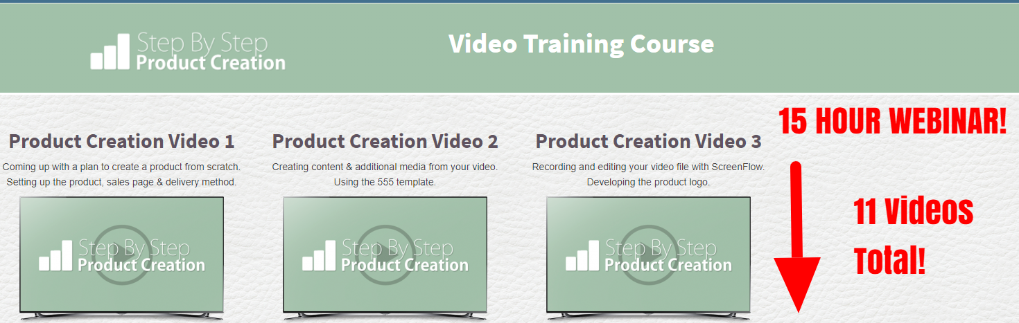 My Unfair Advantage product creation training