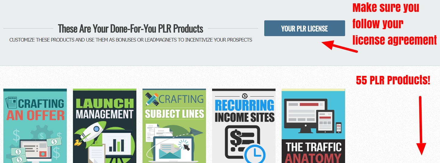 Product Library — My Unfair Advantage
