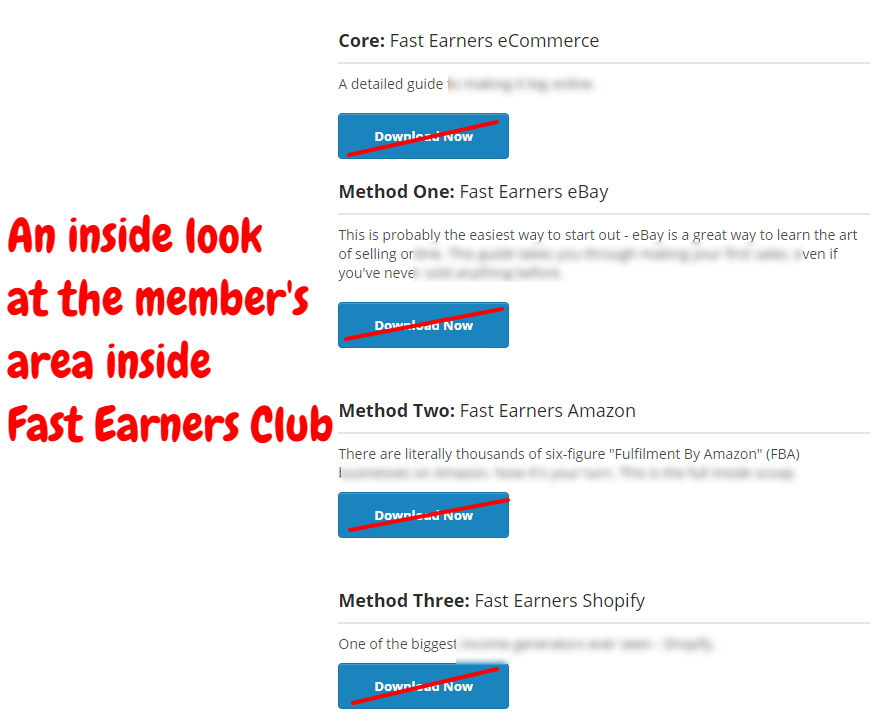 Fast Earners   Members Area