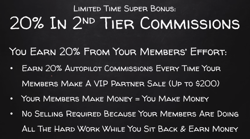 multi layered commissions form earn easy commissions