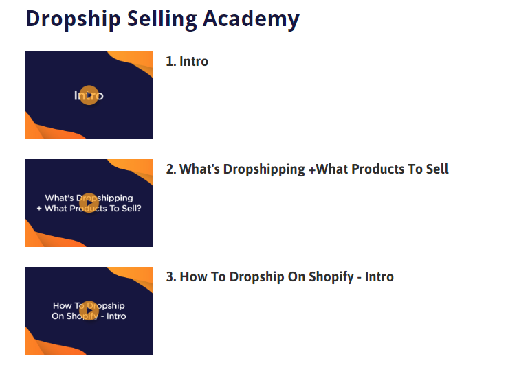 Dropship Selling Academy 1 Click Dropship Multi — Dropship Selling Academy Members Area